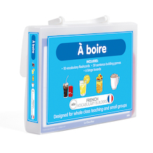 French Vocabulary Builders - Drinks  medium