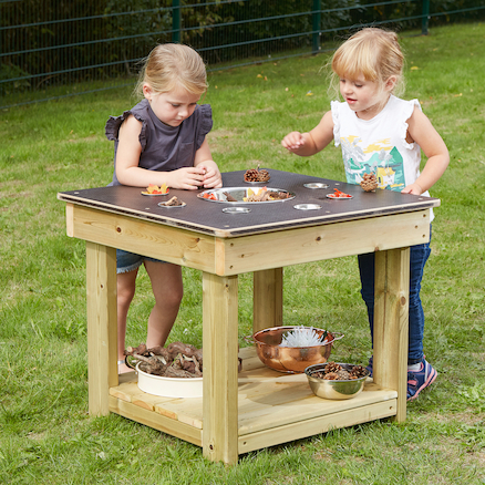 Wooden Collect and Sort Table  large