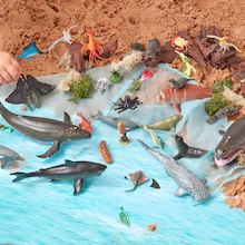 Small World Ocean Animal Collection 21pcs  medium