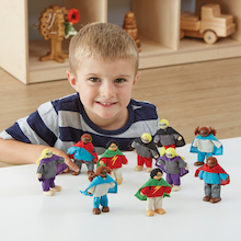 Small World Superhero Figures 10pk  medium