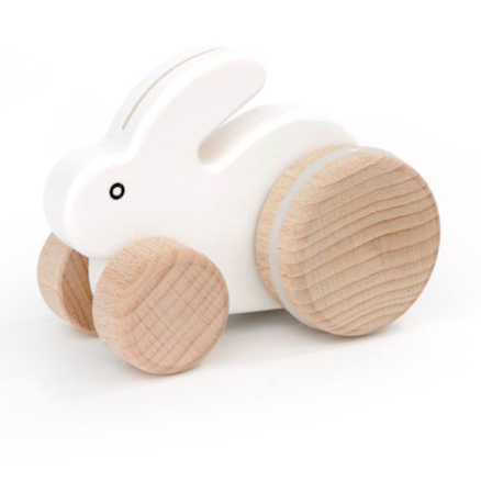 Small Wooden Rabbit  large