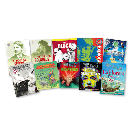 Inventors and Explorers Books 10pk  large
