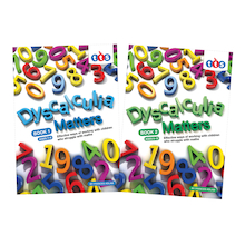 Dyscalculia Matters Activity Books  medium