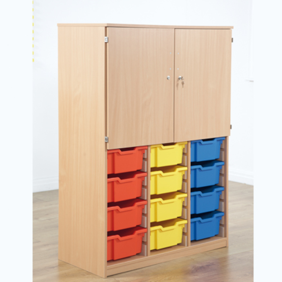 Cupboard With Deep Tray Storage