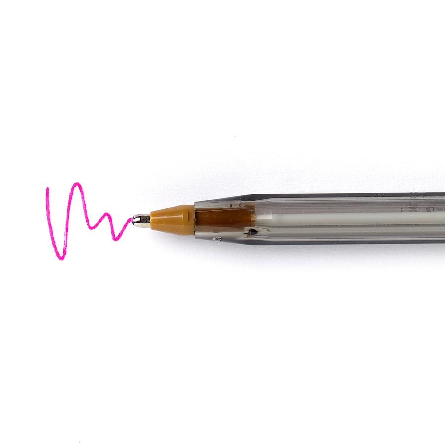 buy bic174 cristal fashion colours ballpoint pen 20pk tts