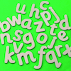 Wooden Alphabet Letters  small