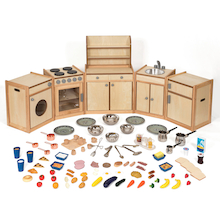 3 - 4 Curiosity Kitchen and Accessories Set  medium