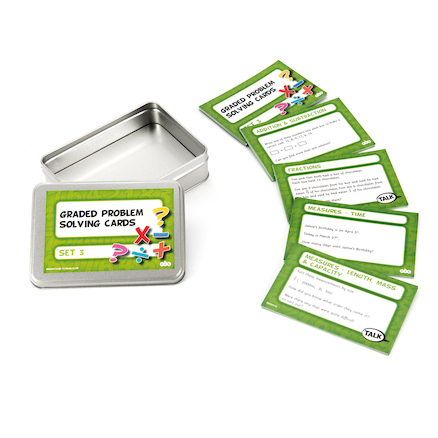 Graded Maths Problem Solving Cards Multi Pack  large