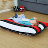 Giant Black \x26 White Cushion  small