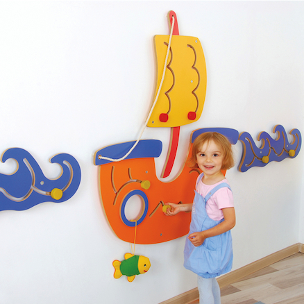 Sensory Manipulative MDF Wall Panels  large