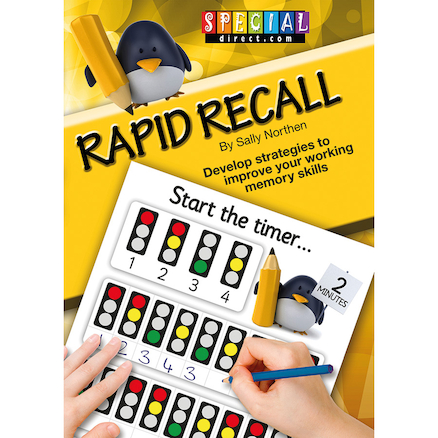 Rapid Recall Memory Skills Worksheet Book  large