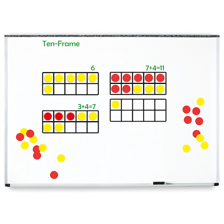 Giant Magnetic Ten Frame Set  large