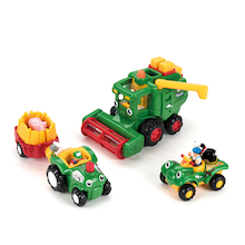 Wow Toys Plastic Farm Vehicles and People Set  medium