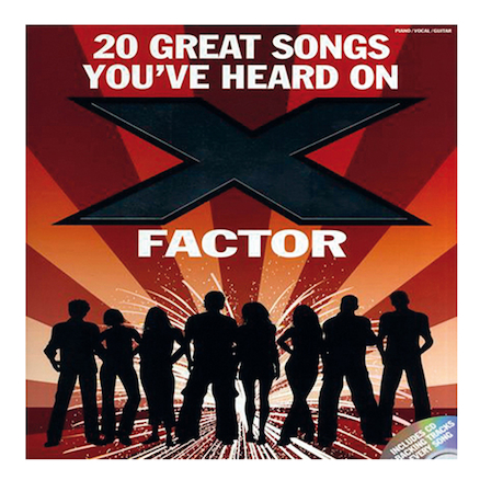 X Factor Songs Book  large