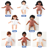 Multicultural Soft Bodied Dolls Buy all and Save  small