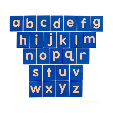 Tactile Alphabet Letters Lowercase 26pk  large