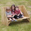 Outdoor Reading Corner Bench  small