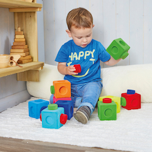 Rubbablox Basix Rubber Building Blocks 27pk  medium