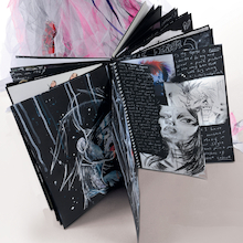 Pisces Hardback Spiral Sketchbooks A3 140gsm  medium