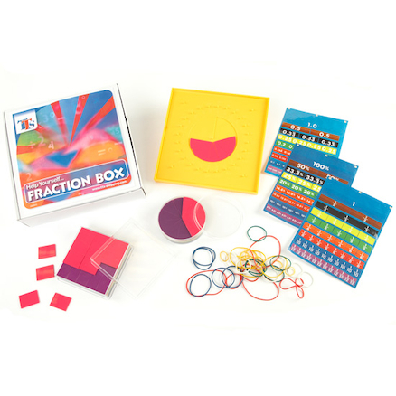 Primary Fractions Resources Box  large