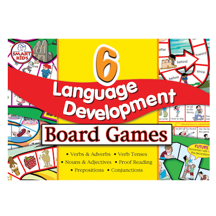 6 Language Development Board Games  large