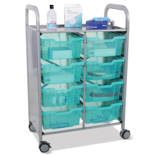 Antimicrobial Tray Trolley  medium