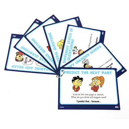 Reader Leader Comprehension and Discussion Cards  large
