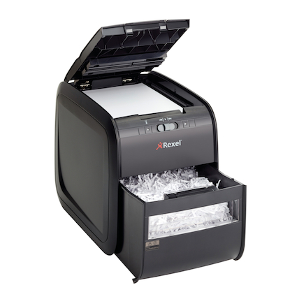 Rexel Auto Feed Cross Cut Shredder 20L  large