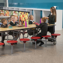 Rectangular 12 Seater Folding Table  medium