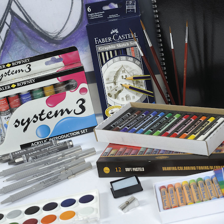 Advanced Student Art Pack C  large