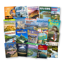 Mountains and Rivers Book Pack KS2 20pk  medium