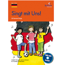 Singt Mit Uns German Songs Book and Audio CD  medium