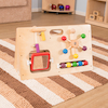 Wooden Manipulative Activity Centre  small