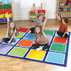 Rainbow Placement Floor Mats  small