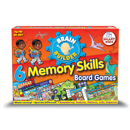 Memory Skills Board Games A3 6pk  large