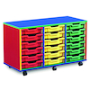 Colour My World Shallow Tray Storage Units  small
