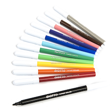 Giotto Turbo Colour Fine Pens  medium