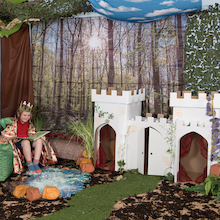 Kid-Eco Cardboard Castle  medium