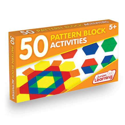 50 Pattern Block Activities  large
