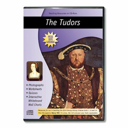 The Tudors Teaching Resources CD ROM  large