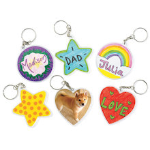 Craft Keychains 12pk  medium