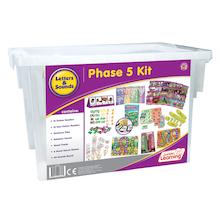 Budget Letters & Sounds Phonics Phase 5 Kit   medium