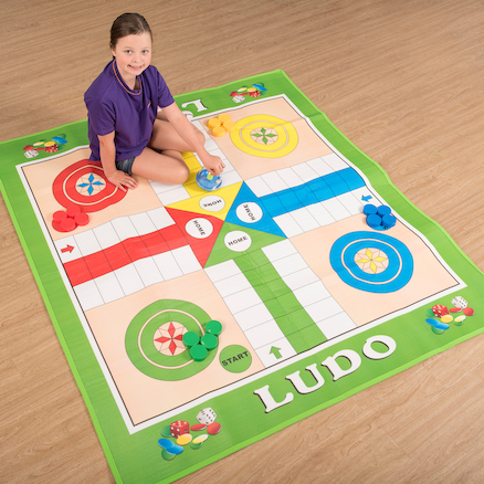 Giant Ludo Outdoor Game  large