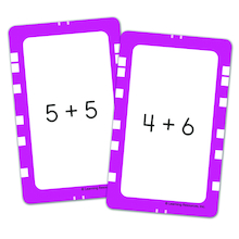 Mental Maths Match Card Sets  medium