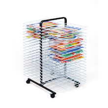 Large 40 Shelf Mobile Drying Rack  medium