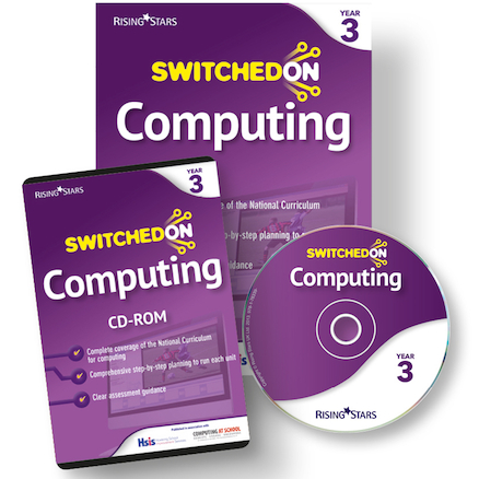 Switched on Computing Scheme of Work CD and Book  large