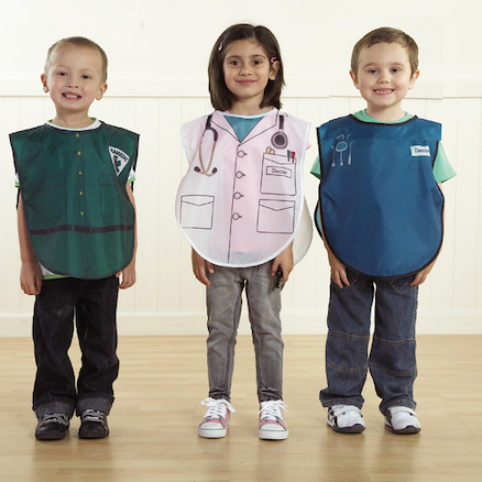People Who Help Us Role Play Tabards 6pcs  large