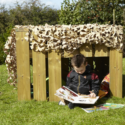 Crawl In Outdoor Wooden Dens  large