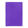 Polyprop Notebook A4, lined with margin Purple  small