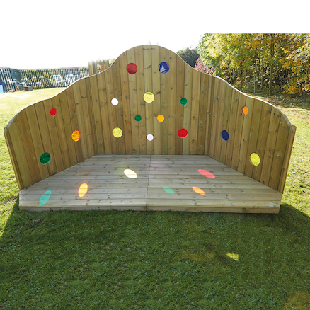 Outdoor Rainbow Stage  large